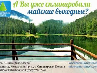 Майские праздники в Карпатах!