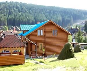 Частный сектор 5,2 Паляница Двухэтажный деревянный коттедж по номерам Буковель (Поляница)