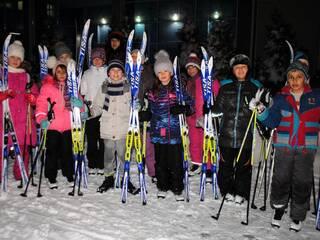 "Катание на лыжах в ""Славутиче""- 2016"