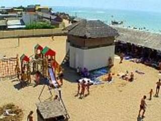 """Пляж пансионата """"Оазис"""" признан лучшим в городе Евпатория!"""