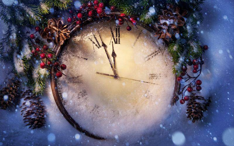 "Новогодний праздник в ""Околице"" — вкусно, сочно, красиво!"