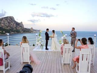Свадьба с видом на море!