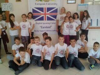 Детский лагерь Евролэнд Мироцкое, Киевская область