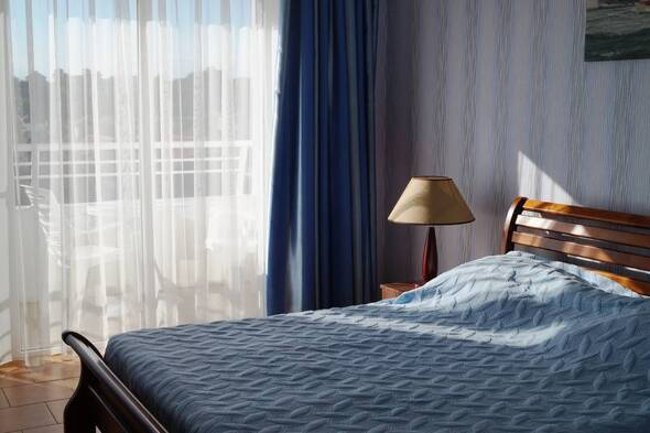 Стандартный двухместный номер с видом на ландшафт 2,3,4 этаж - Вилла Санторини