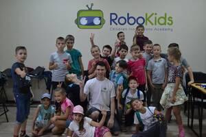 Детский лагерь Дневной робототехнический лагерь РобоКидс Киев