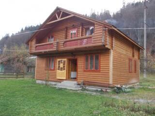 Мини-гостиница татарів 11 дом на 4 комнаты, 8 человек, деревянный коттедж  бруса Карпаты Татаров, Ивано-Франковская область