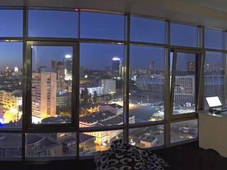 панорамный вид с 10-и местной комнаты