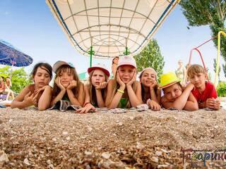 пляж детского лагеря Гагарина