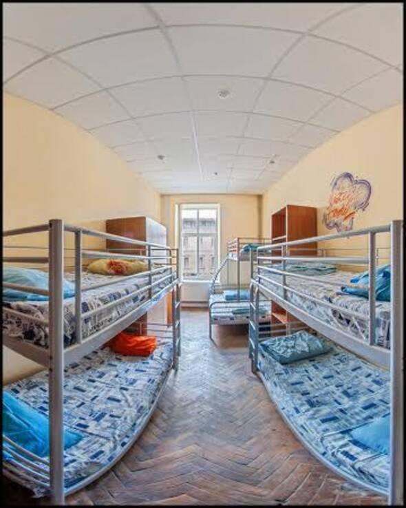 6ти місний (душ і туалет на поверсі) - Містер хостел