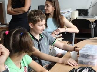 1-ая смена летней школы робототехники