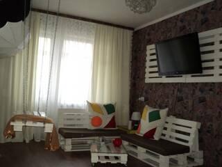 Квартира Однокомнатная с дизайнерским оригинальным ремонтом посуточно, WiFi Белая Церковь, Киевская область