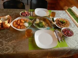 Гостинна садиба «Родинне гніздо» в селі Губник, Вінницька область запрошує спробувати смачні страви української та європейської кухні.