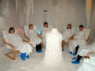 Спелеотерапия(соляная шахта)