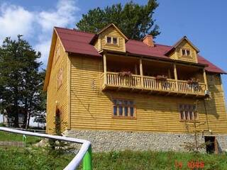 Гостиница Карпатські полонини Сколе, Львовская область