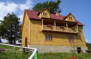 Гостиница Карпатські полонини Сколе