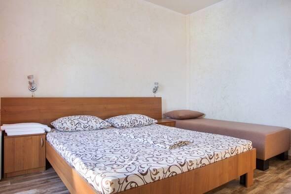 Номер ЛЮКС, 1-комнатный 3-и спальных места - Пальма