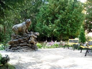 Скульптура парковой зоны отдыха