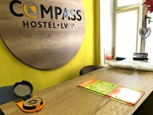 Хостел COMPASS Hostel Lviv Львов
