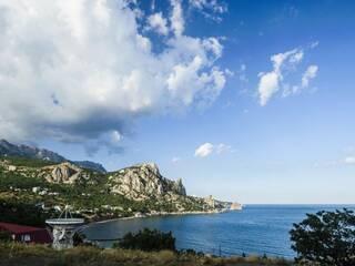 отель у моря в Крыму