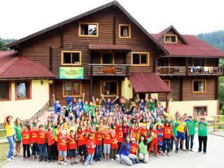 Детский лагерь Активно-творческий лагерь Эдельвейс Орявчик, Львовская область