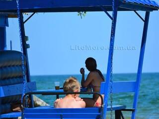беседки у моря затока