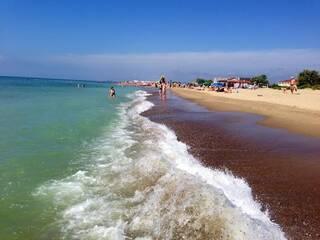 Море июль
