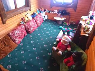 Детская игровая комната в ресторане колыба.  Пока дети играют - родители отдыхают!
