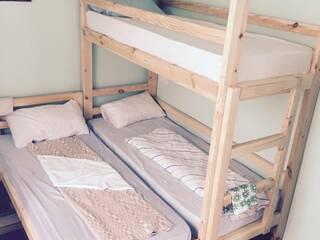 отдельный номер (двухспальная кровать)