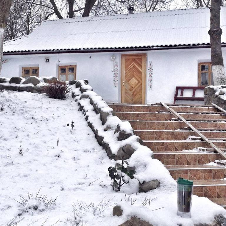 Різдво 2019 в гостинній садибі «Родинне гніздо» в селі Гармаки, Вінницька область.