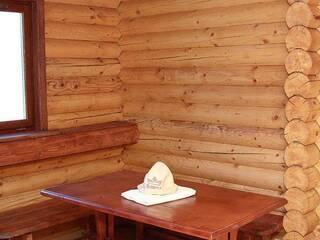 Затишна лазня на дровах в гостинній садибі «Родинне гніздо» в селі Гармаки, Вінницька область.