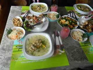 Спеціально для наших гостей ми розробили меню зі смачними стравами, які несуть в собі користь