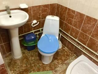 Туалетная комната. Белый корпус