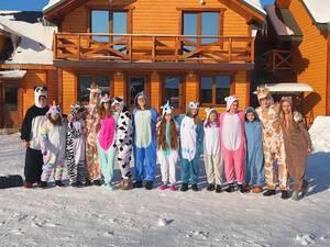 Детский лагерь Зимний лагерь в Карпатах - Новогодние каникулы Camp Life. Микуличин