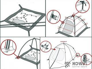 Туристическая палатка: как собрать самостоятельно?