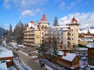 Гостиница Patkovski Hotel Буковель (Поляница), Ивано-Франковская область