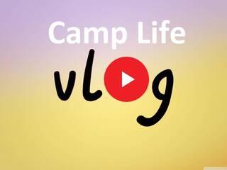 1 смена в Карпатах - VLOG Camp Life.