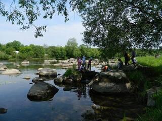 """Гостинна садиба """"Родинне гніздо"""" в селі Канава, Вінницька область пропонує відпочинок на річці Південний Буг!"""