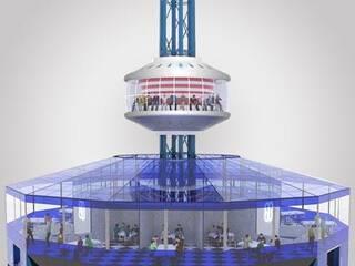 На набережной Феодосии хотят установить башню кругового обзора.