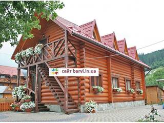 Частный сектор Двоповерховий котедж на 8 осіб, номери з окремим входом Микуличин, Ивано-Франковская область