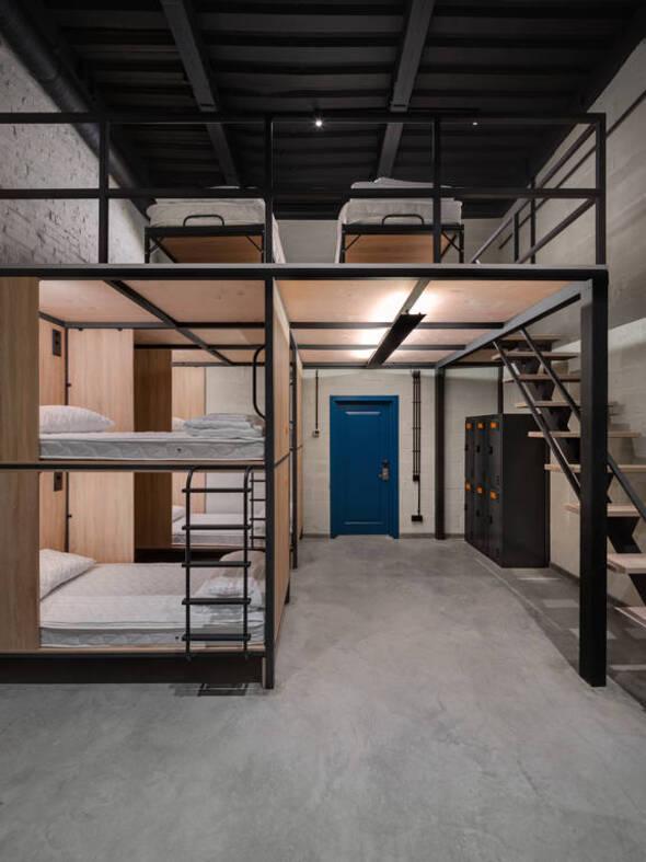 Кровать в 6-местной комнате - А-ХОСТЕЛ