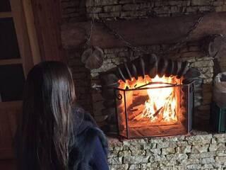 Холодними, морозними вечорами зігрівайтесь в гостинній садибі «Родинне гніздо»!