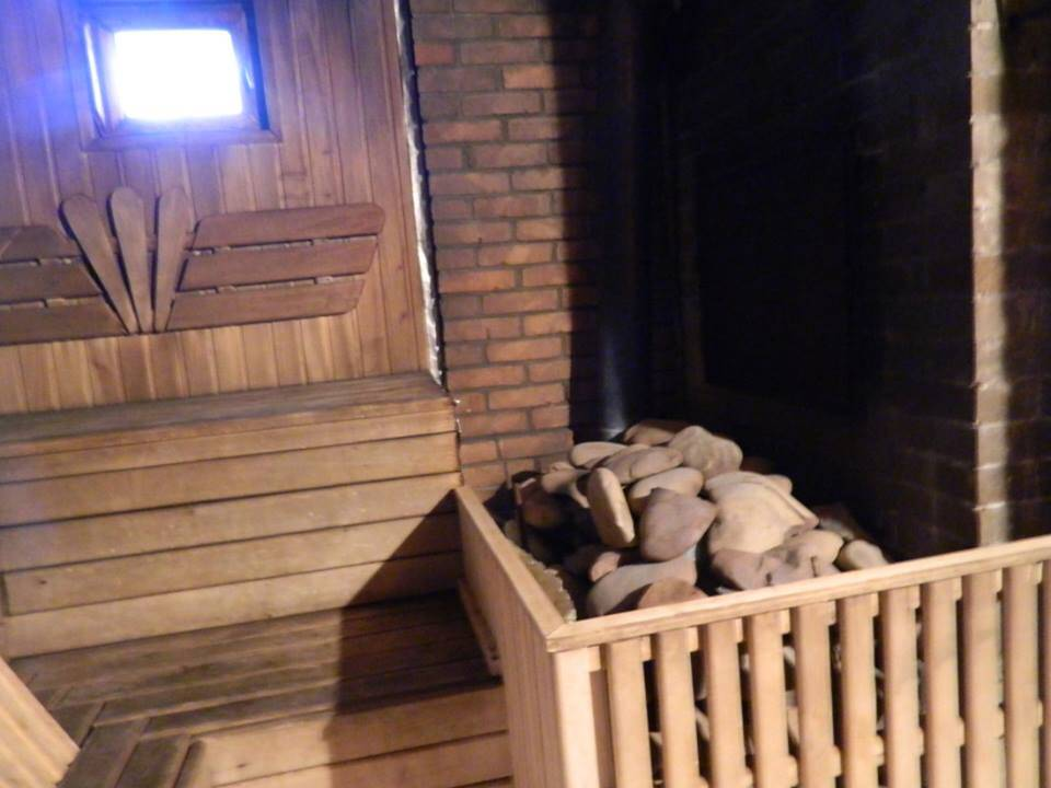"""Гостинна садиба """"Родинне гніздо"""" запрошує відвідати фінську сауну."""