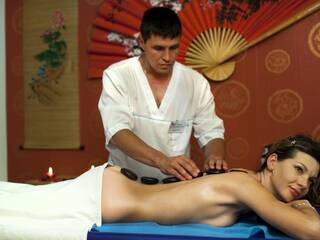 Стоун-массаж. Спа-отделение