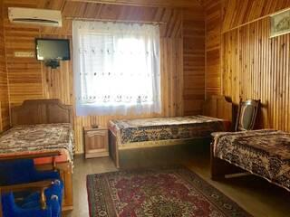 Номер с 3-мя односпальными кроватями и раскладным креслом. Красный корпус